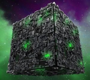 borg cube star trek