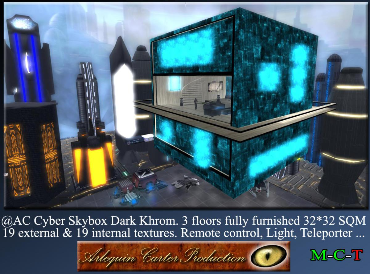 Cyber-Home-Dark-Khrom