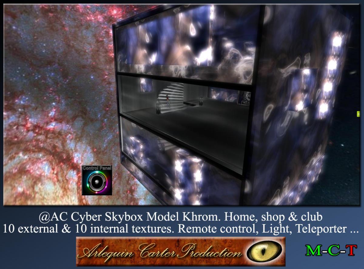 Cyber-Home-Khrom-Vendor