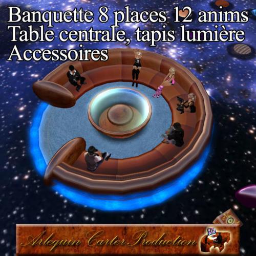 Banquette-8P