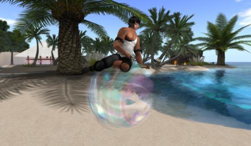 Bubble Sit 004
