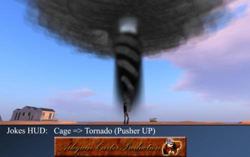 Cage-tornado